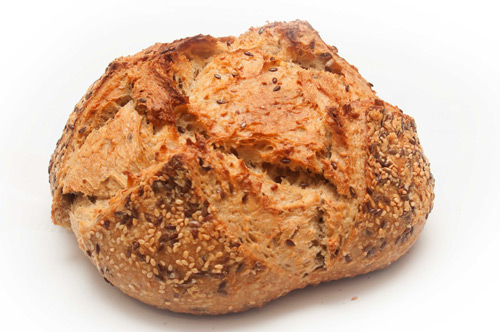 <center><b>Dinkel-Saaten-Brot</b></center>